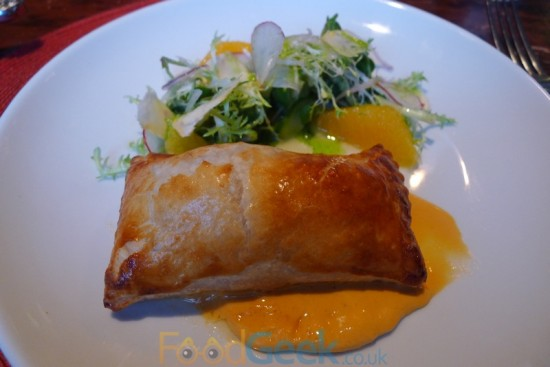 Crab & Scallop Turnover