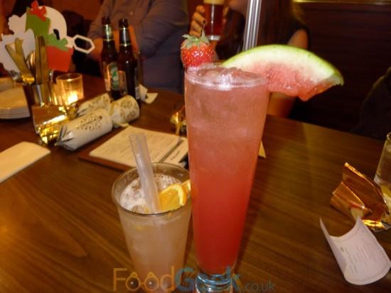 Long Island Lychee & Watermelon Fizz