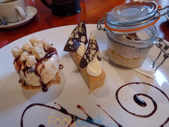 Dessert Platter To Share