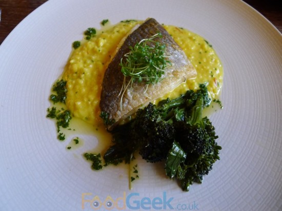 Roast Black Bream