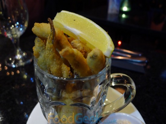 1/2 Pint Of Whitebait