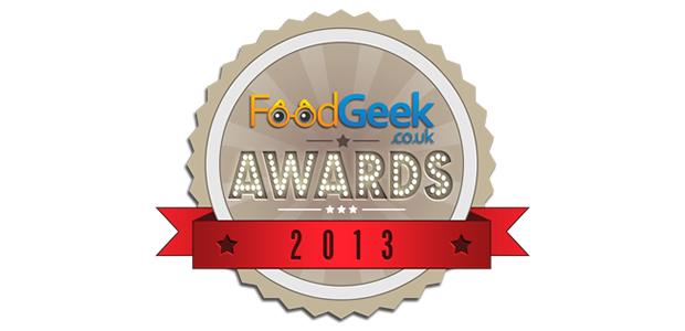 The 2013 Food Geek Awards