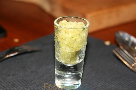 Gin & Cucumber Granita