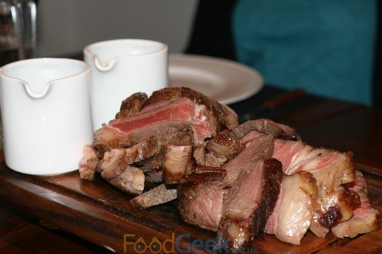 France - Rump, England - Roast Rib On The Bone