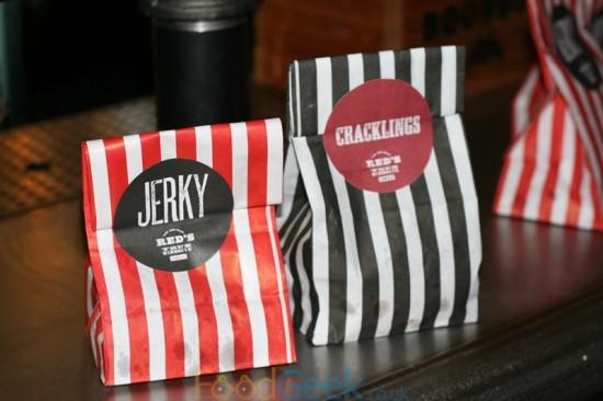 Beef Jerky & Pork Crackling
