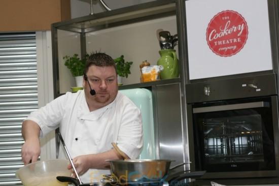 Jon Jones, Head chef of The Farmers Arms