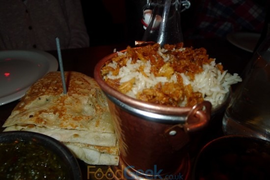 Tamarind Mushroom Rice