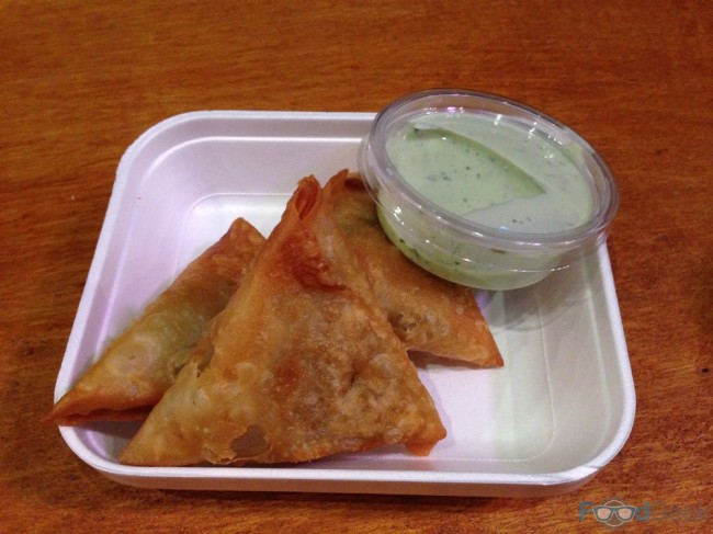 Potato & Lemon Samosas from Alam's