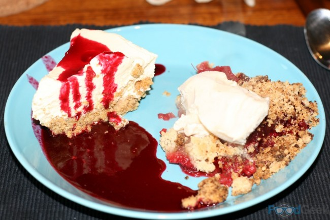 Cheesecake & Crumble