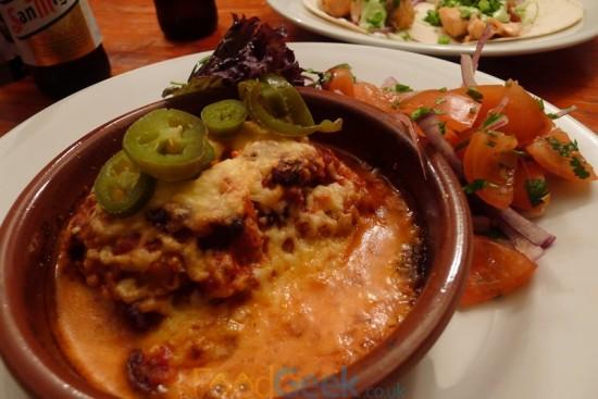 Mexican Bean Lasagne