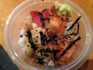 Seafood Donburi from Umezushi