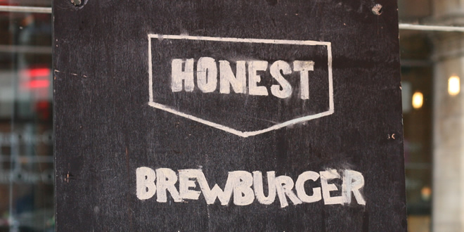 The 'Honest Burgers' #BrewBurger @ BrewDog Manchester