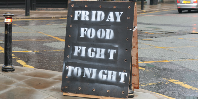 Friday Food Fight – SE 01 . EP 04 (28/03/2014)