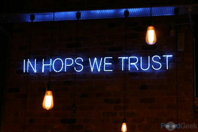 In Hops We Trust
