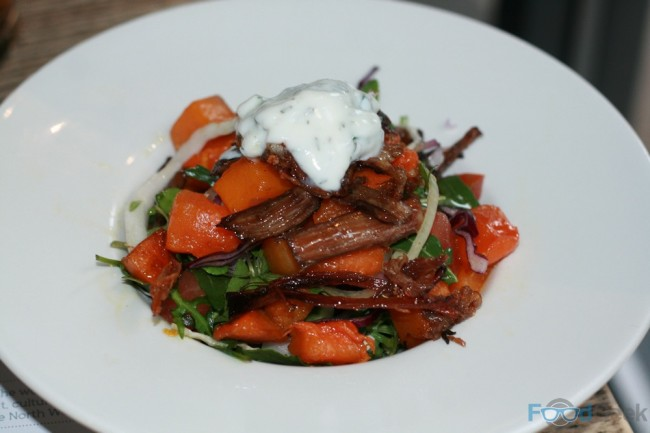 Lamb Breast, Pumpkin & Honey Salad