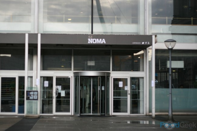 Noma (Not that one)