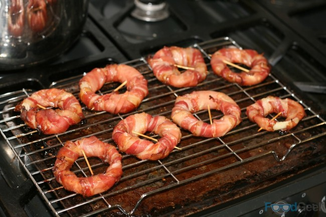 Bacon Onion Rings - Prep
