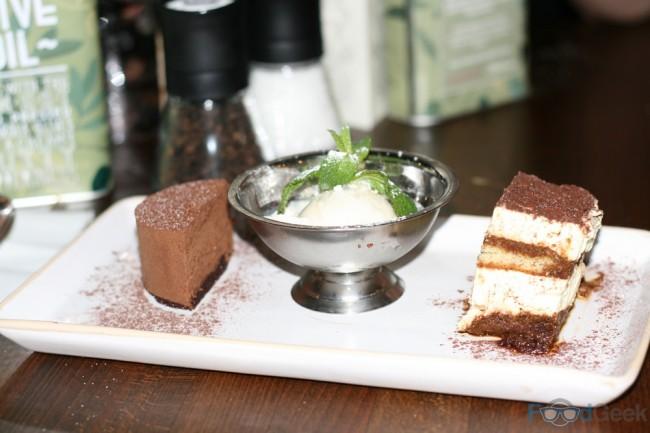 Trio Of Desserts