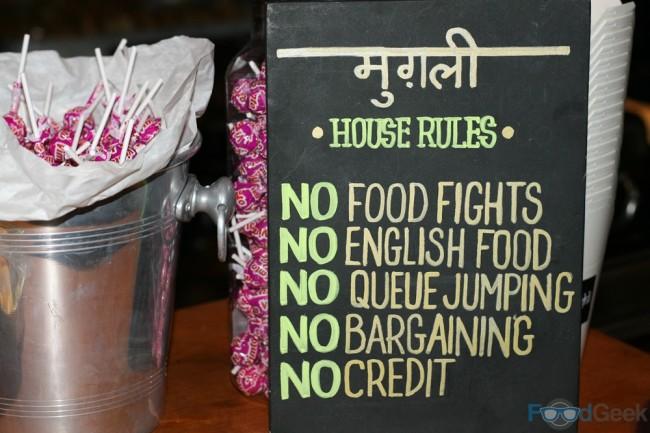 Mughli House Rules