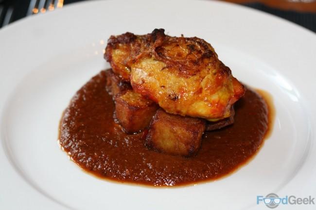 Patas Bravas & Saffron Chicken