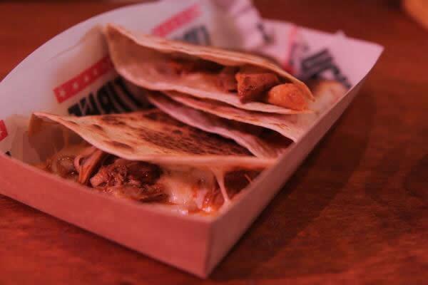 Chorizo & Potato Quesadillas