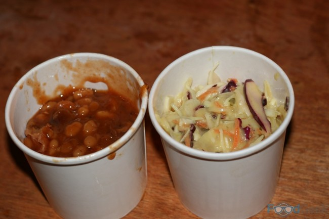 Red's Pit Beans & Slaw