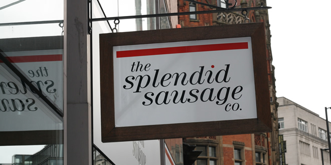 'The Splendid Sausage Company' Bring Quality Bangers To Manchester
