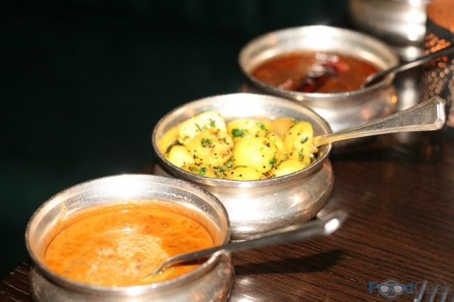Dal Maharani, Wild Mustard Baby Potatoes