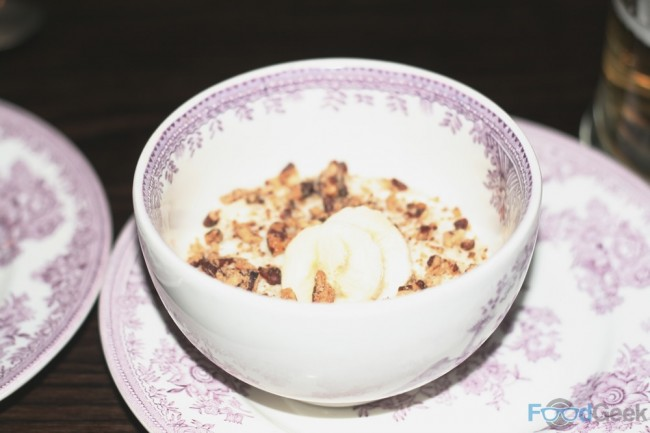 Banana and Pecan Kheer