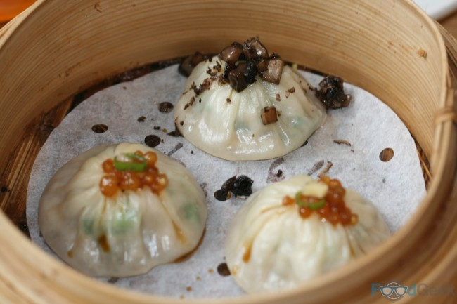 Mushroom Pork Truffle & Shanghai Steamed Dumplings