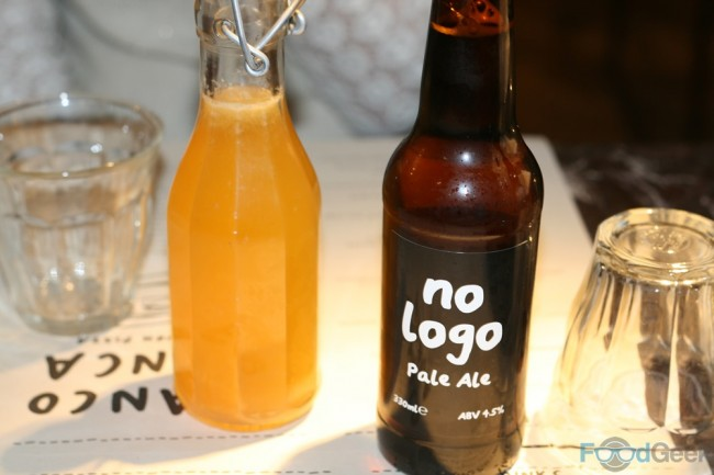 Organic Lemonade & No Logo Pale Ale