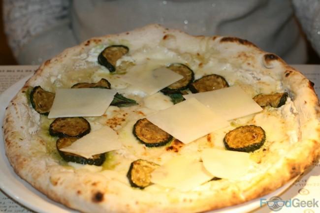 Courgette, Basil, Mozzarella, Ricotta & Pecorino