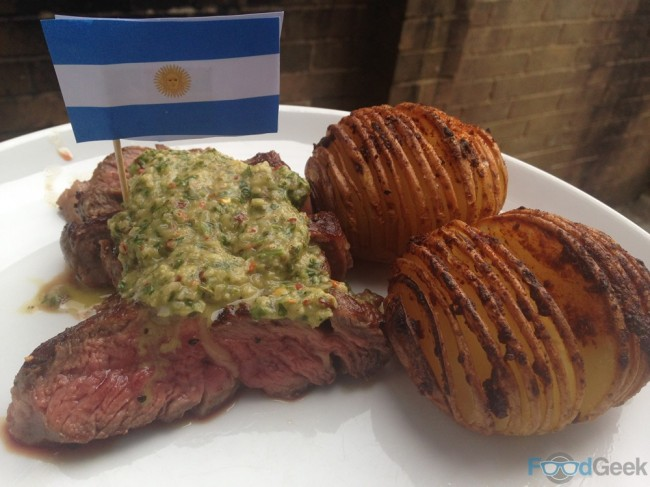 Ribeye Steak & Chimmichuri