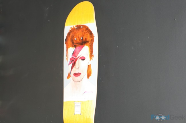 Limited Edition Bowie Skateboard