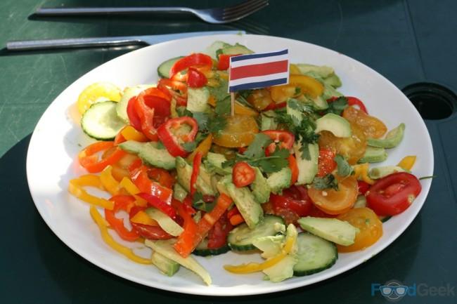 Costa Rican Tomato Salad