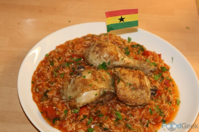 Chicken & Jollof Rice