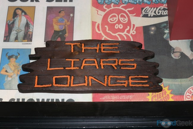 Liars Lounge Staircase