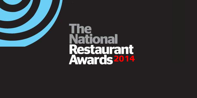National Restaurant Awards 2014 Winners