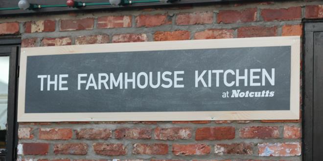 The Farmhouse Kitchen 'Summer Evening', Woodford Park Garden Centre, Stockport