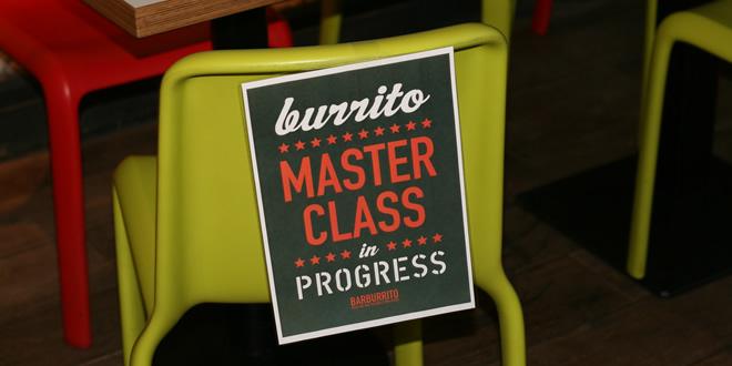 Burrito Masterclass @ Barburrito Manchester