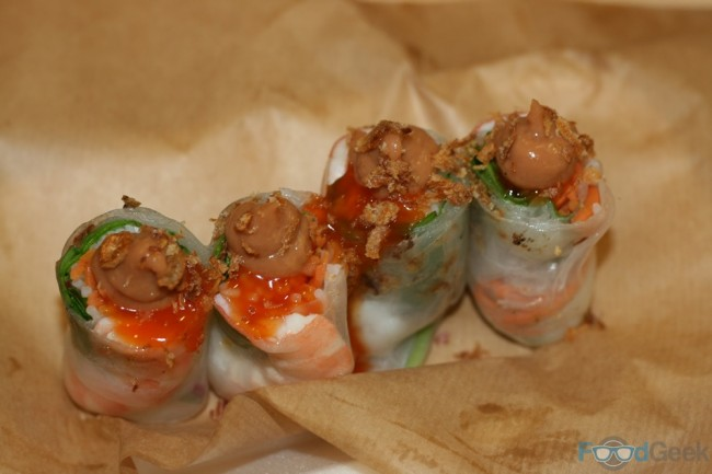King Prawn Summer Rolls