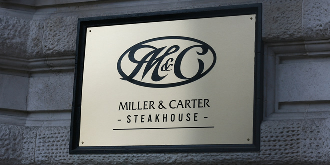 Miller & Carter Steakhouse, Manchester – Just another disappointingly mediocre chain