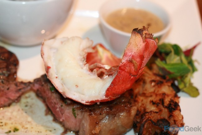 Grilled Half Lobster Tail