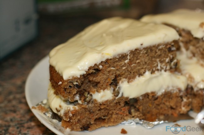 Amber Ale Carrot Cake
