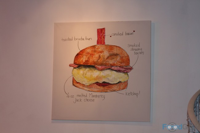 Bacon Double Cheese Artwork