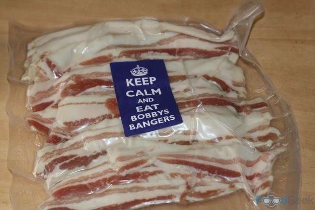 Bobbys Bangers Bacon