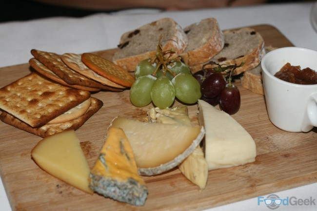 Yorkshire Cheese Board