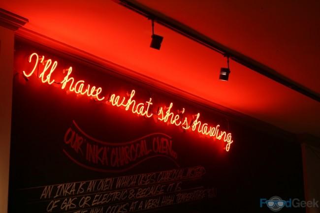 Neon Slogan