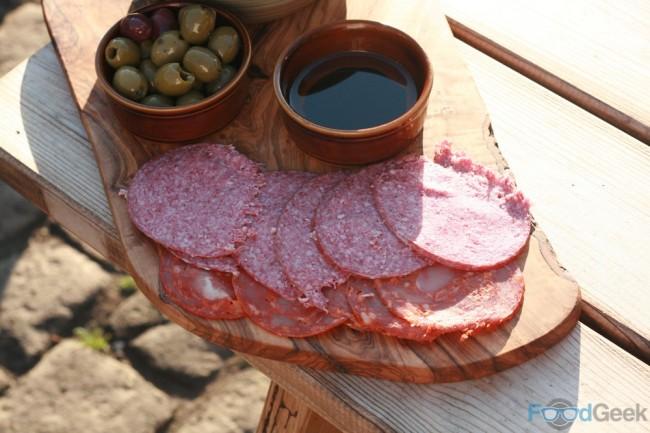 Meat & Olives