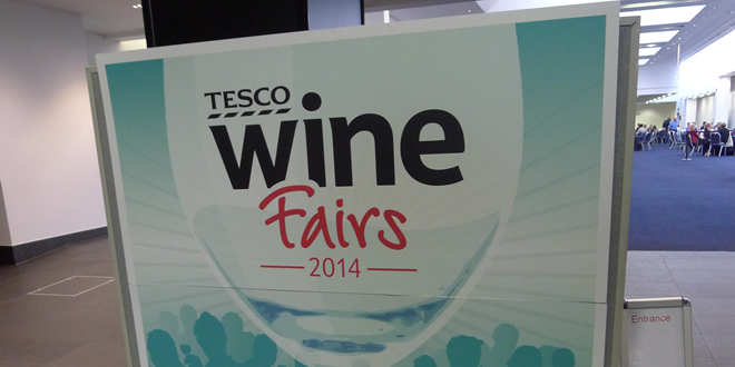 Tesco Wine Fair 2014 @ Manchester Central